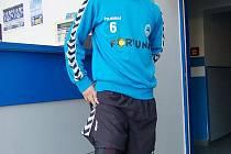 "Jiří ""Diego"" Krystan s ortézou"