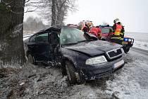 Smrtelná nehoda u Karlovic
