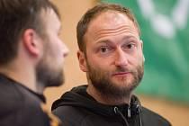Člen realizačního týmu FBC Liberec Miroslav Nečas.