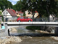Secesní most v Chrastavě.