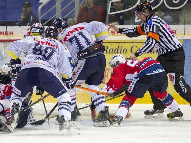 Hokej. Bílí Tygři - Pardubice
