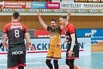 Volejbalisté Českých Budějovic porazili Liberec 3:1.