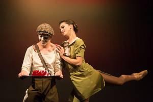 Divadlo zve na komiksový balet v rytmu jazzu.