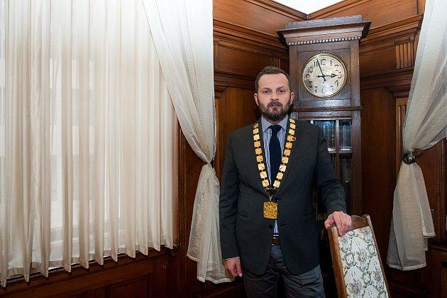Primátor statutárního města Liberec Tibor Batthyány na snímku z 14. března.