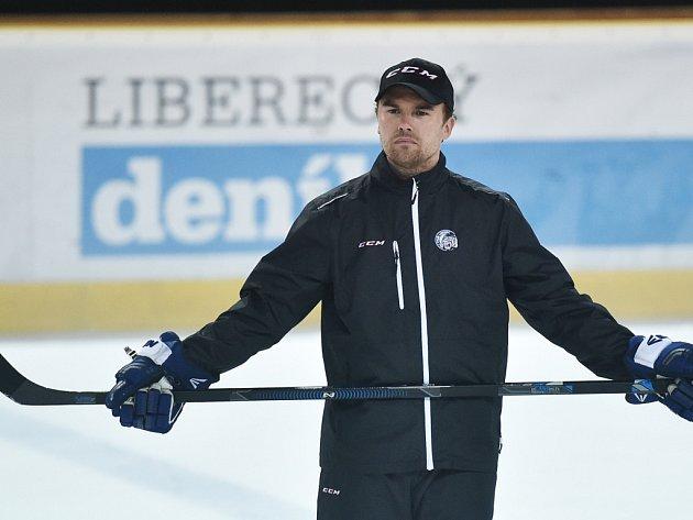 Trenér Filip Pešán.
