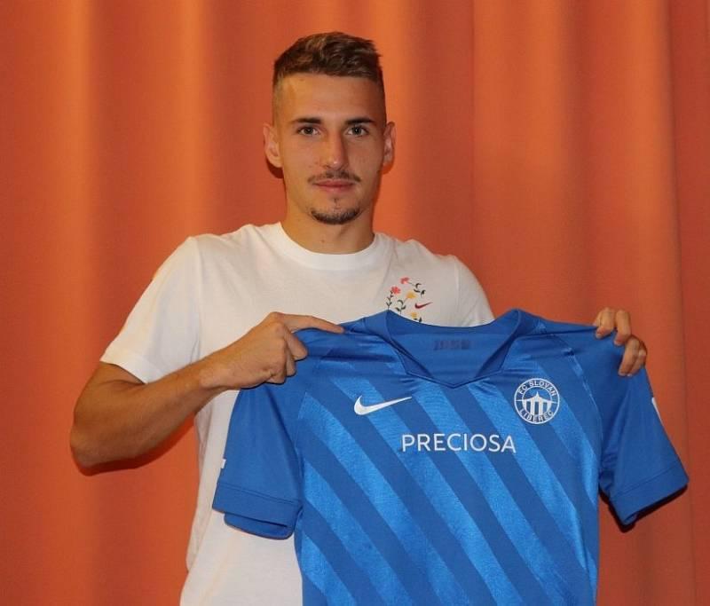 Nová posila Slovanu Liberec Michal Sadílek.