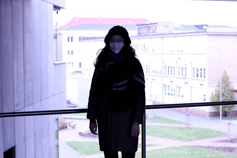 Mladá Anastasiya patří mezi šestnáct studentů, kteří uprchli před tamním režimem z Běloruska a nový domov našli v Liberci.