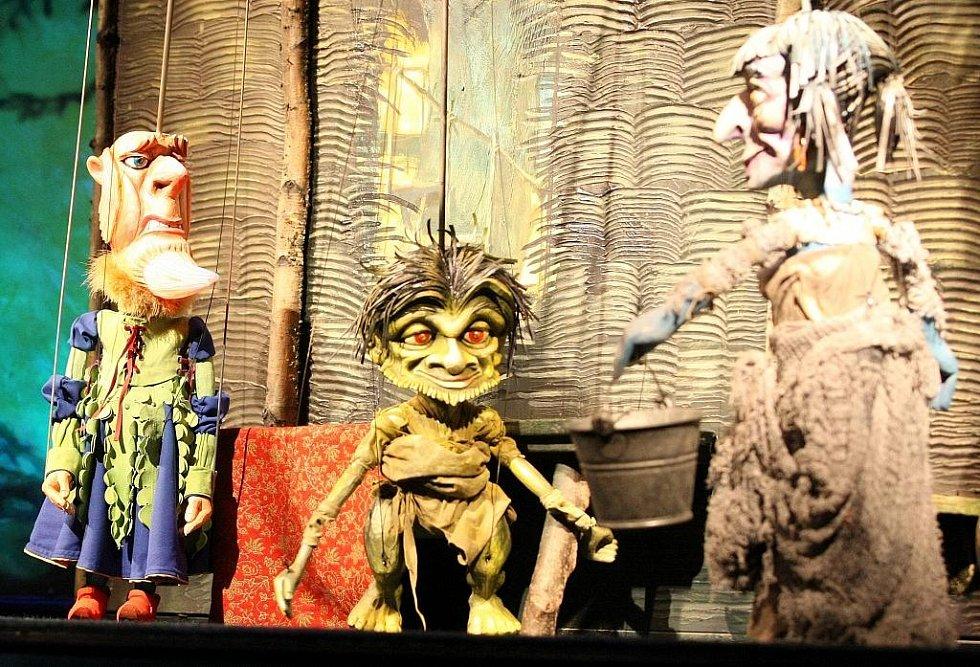 Inscenace libereckého Naivního divadla Labutí jezírko.