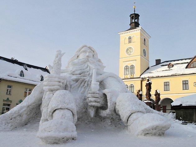 Tradiční sněhový Krakonoš v Jilemnici letos nebude.