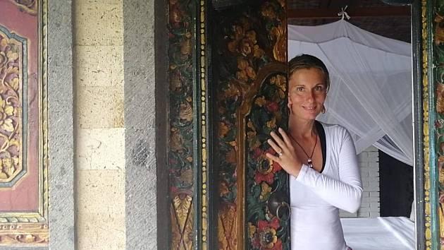 Šárka Hloušková z Turnova žije už třetím rokem na Bali