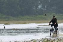 Velká povodeň postihla Předlánce začátkem srpna 2006.