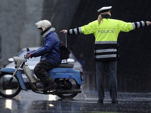 Řízení dopravy. Ilustrační snímek.
