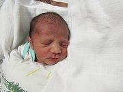 ALEXANDR TOMÁŠ  Narodil se 25. ledna v liberecké porodnici mamince Leoně Tomášové z Raspenavy.  Vážil 2,46 kg a měřil 46 cm.