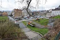 Liberec začal s proměnou Papírového náměstí.