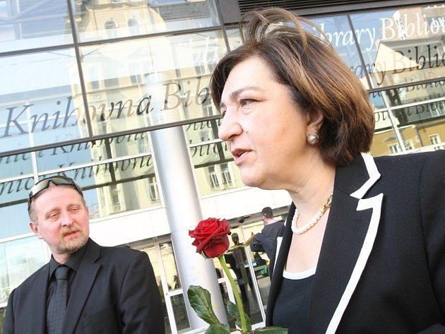 Velvyslankyně Gruzie v České republice Nino Nakashidze.