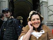 Libereckou radnici na jeden den obsadili francouzští filmaři, kteří zde natáčejí film Chateaubriand.