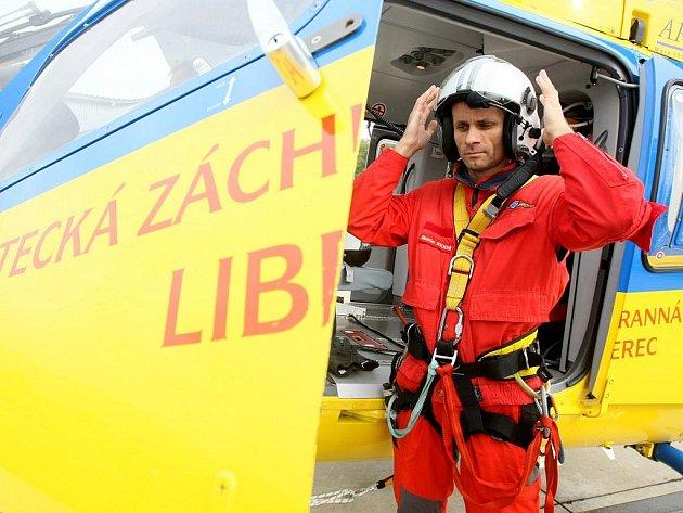Ředitel Zdravotnické záchranné služby Libereckého kraje Stanislav Mackovík.