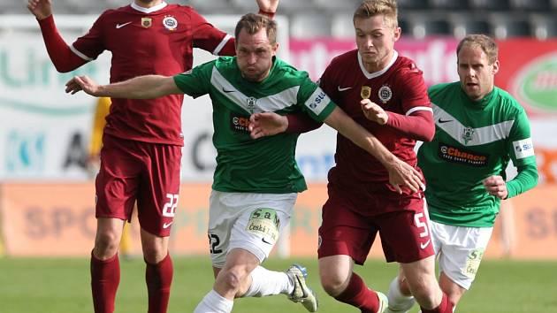 První utkání semifinále Poháru České pošty FK Baumit Jablonec – AC Sparta Praha.