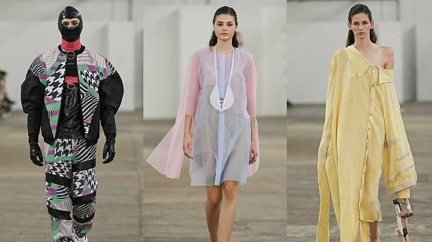 Návrháři a designéři z Liberce se předvedli na nejprestižnější módní akci v Praze.