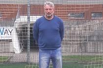 VÍTĚZ ANKETY. Peter Sulo, trenér Sokola Doubí v I. A třídě, zvítězil v okresní anketě O nejpopulárnějšího fotbalistu.