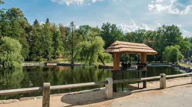 Zámecký rybník ve Frýdlantu