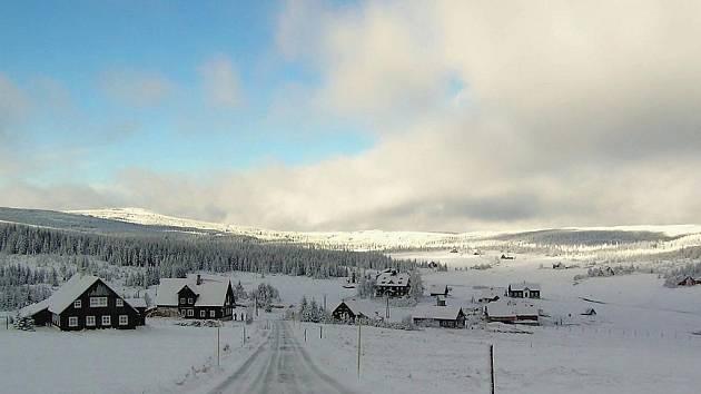 Jizerka v zimě.