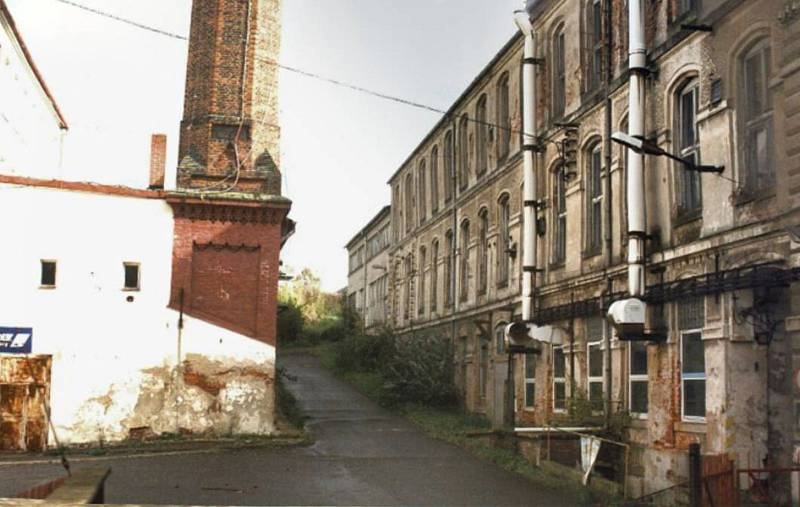 Brownfield továrny Benar v Hrádku nad Nisou.