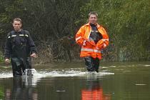 Povodně na Liberecku. Ilustrační foto
