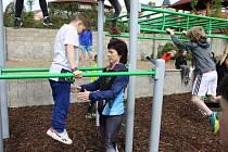 Druhé workoutové hřiště v Turnově bylo slavnostně otevřeno.