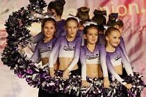 A-STYL LIBEREC. Cheerleadingový tým A-stylu čeká další soutěž 25. dubna v Plzni.