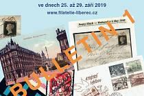 Národní výstava poštovních známek Liberec 2019