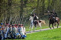 Rekonstrukce bitvy mezi pruskými a rakouskými vojsky z roku 1757 v areálu Vesec v Liberci