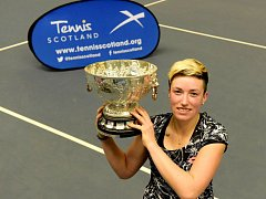 Petra Krejsová z LTK Liberec vyhrála turnaj v Glasgow
