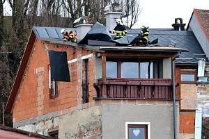 Liberecký kraj zasáhl ve čtvrtek 12. prosince silný vítr.