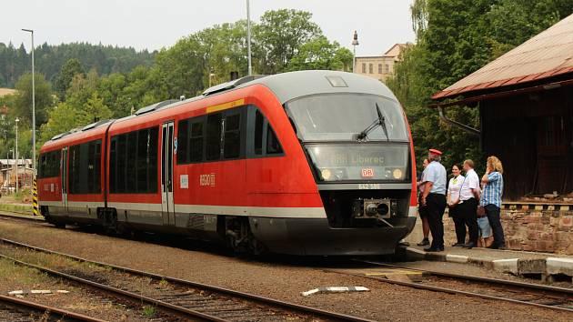Vlak společnosti Arriva. Ilustrační snímek.