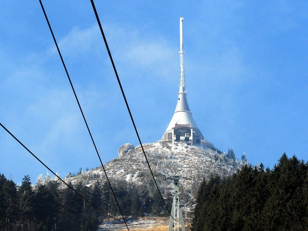 Symbol Liberecka Ještěd