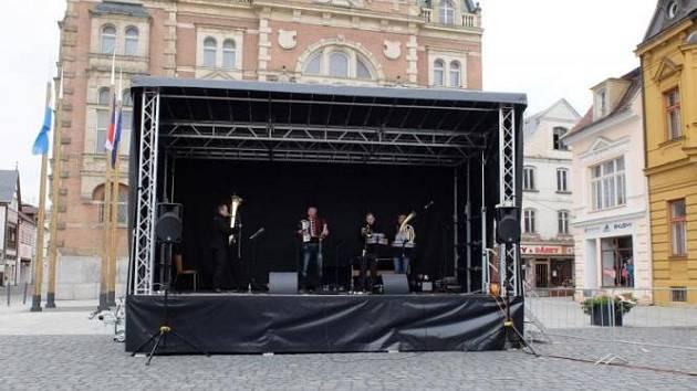 Mobilní pódium pro malé i velké umělce nejen z Frýdlantska.