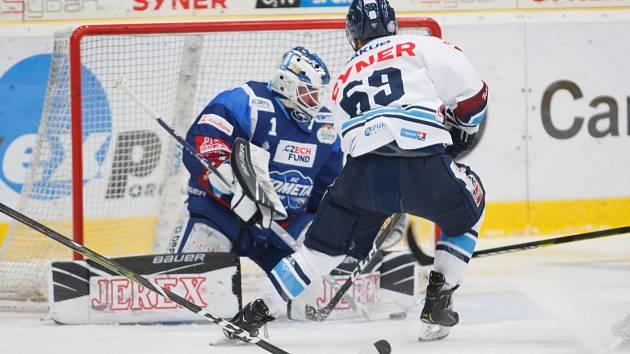 Liberecký útočník Marek Zachar sice tento nájezd neproměnil, ale Liberec i tak porazil Kometu.