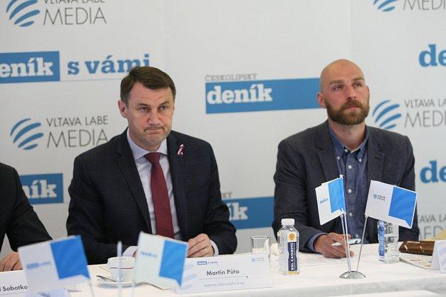 Setkání shejtmanem Libereckého kraje proběhlo ve středu 24.dubna 2019vLiberci.