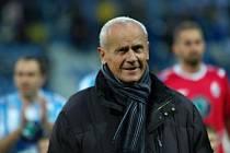 Fotbalový trenér Milouš Kvaček.