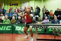 PETR KORBEL. Bývalý olympionik stále dokáže rozdávat radost a soupeři brát body.