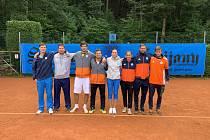 Tenisté LTK Liberec uspěli vyhráli finále první ligy bez boje.