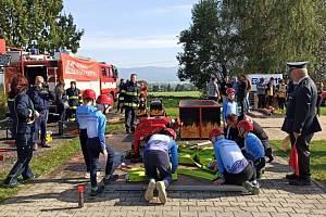 Dvojboj sv. Floriána prověřil mladé hasiče z Liberecka.