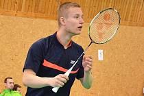 ONDŘEJ KLIMEŠ. Mladý badmintonista ze Slovanu Vesec.