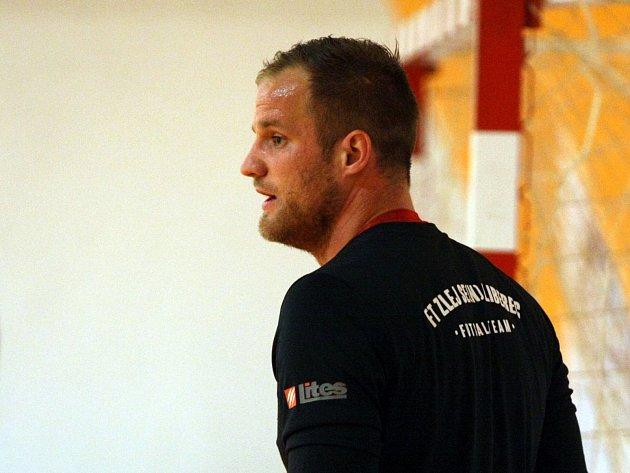 Liberecký gólman Dominik Vogt.