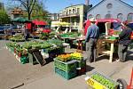 Nová městská tržnice v Liberci. Video z dubna 2009.