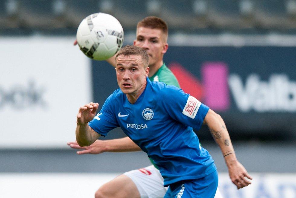 Záložník Liberce Tomáš Malinský rozhodl o třech bodech pro svůj tým.
