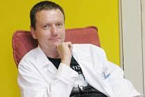 Psychoterapeut Petr Moos.