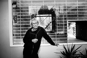 Architekt a pedagog Fakulty umění a architektury TUL Petr Stolín a jeho ZEN-Houses. Projekt se stal vítěznou realizací České ceny za architekturu 2016.