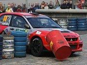 Rally Bohemia. Snímek z ročníku 2008.
